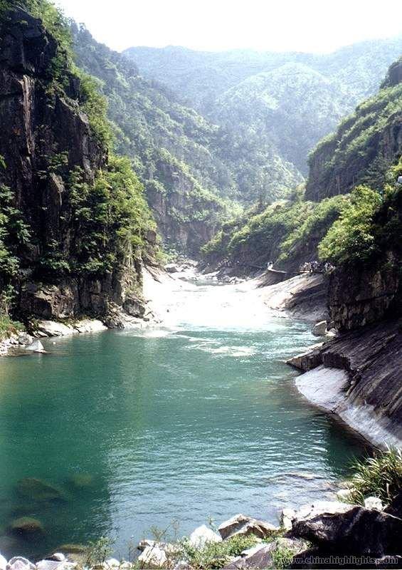 Zhexi Grand Canyon In Hangzhou Of Zhejiang Province