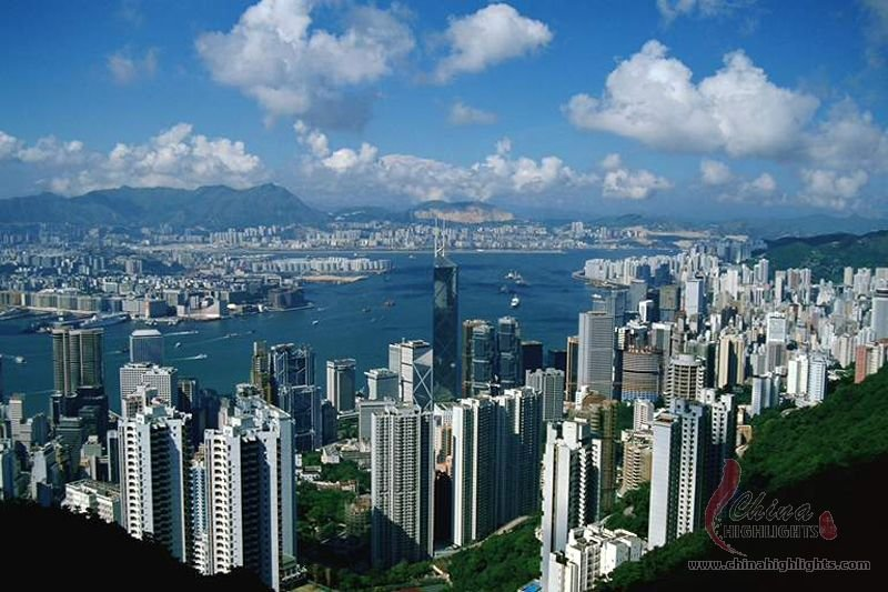 Victoria Peak Source: China Highlights