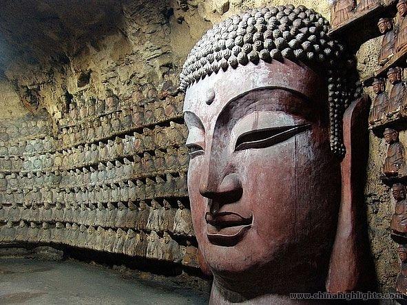 Jinan Thousand Buddha Mountain Qianfo Mountain In Jinan