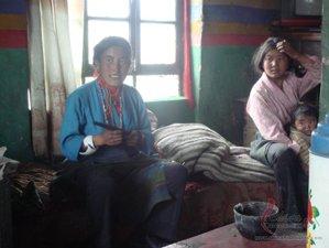 Tibetan family
