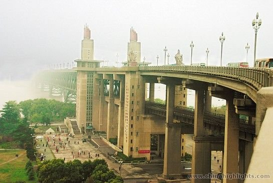 Nanjing Yangtze River Bridge China Highlights