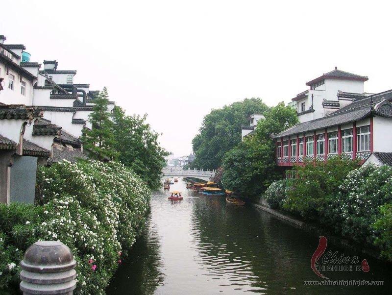 Nanjing Qinhuai River Cradle Of Nanjing Civilization