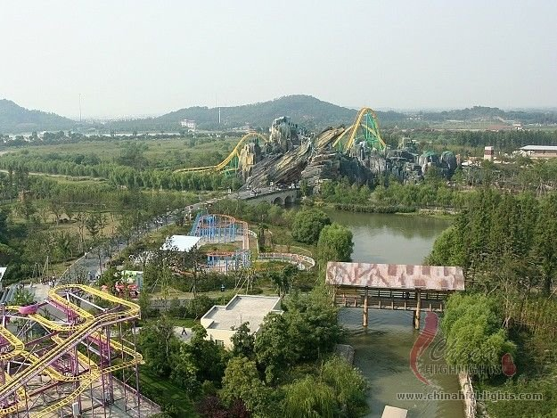 Water Park at Shanghai Happy Valley