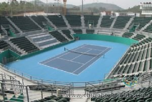 Tennis Court of Longgang Sports Center