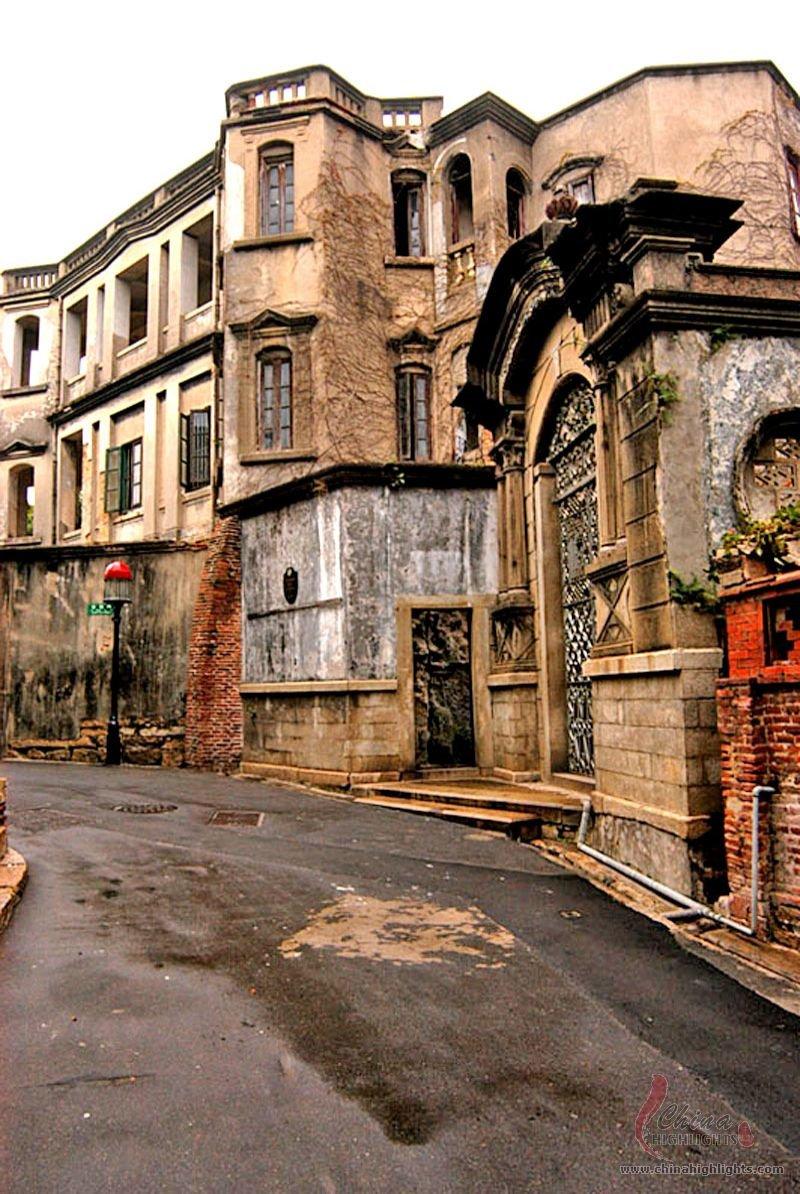Xiamen Gulangyu Island Xiamen S Only Pedestrian Island