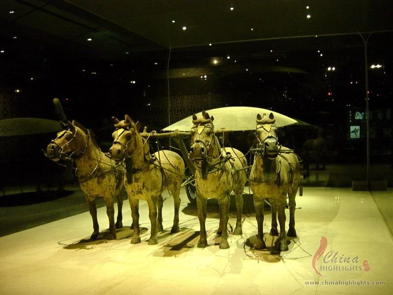 The Terracotta Army Horse and Chariot Exhibition