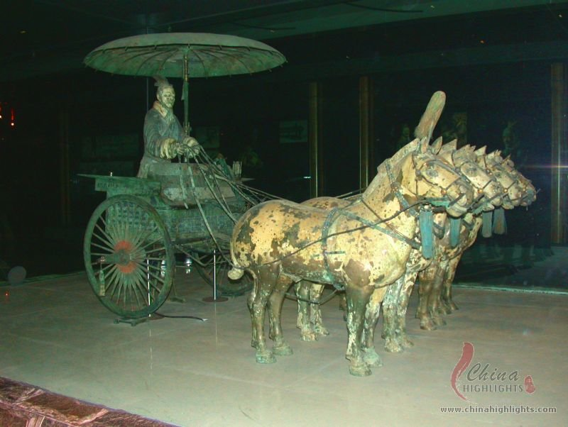 Bronze Chariots of the Terracotta Army