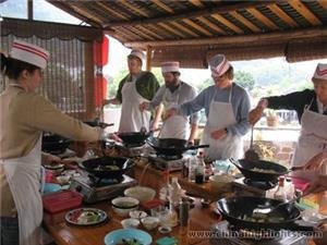 Learning Cooking In Yangshuo