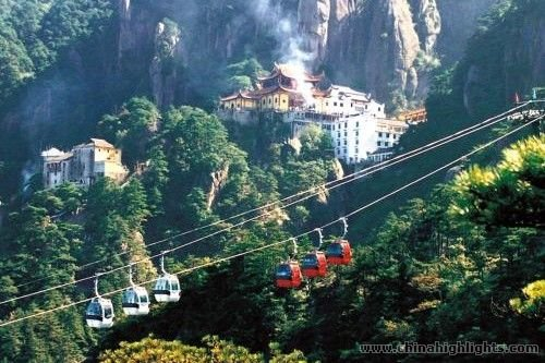 Yellow Mountains cable car