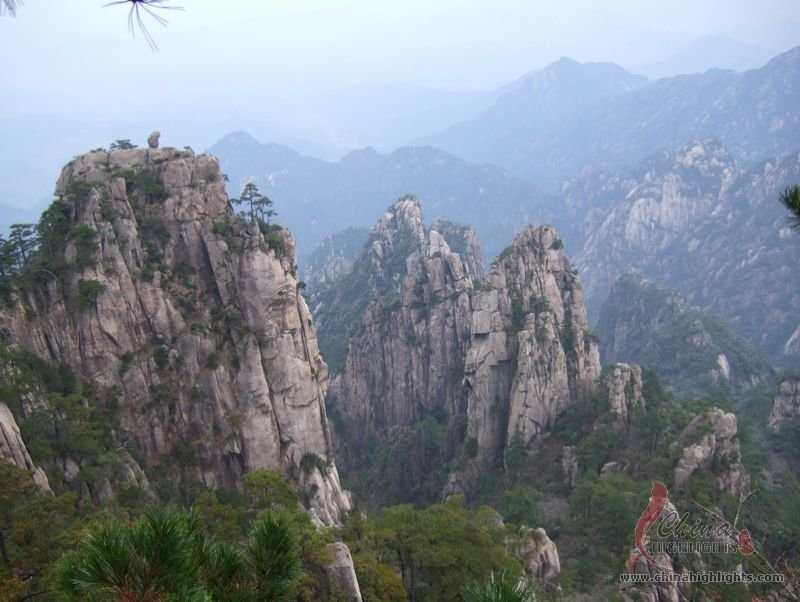 Oddly-Shaped Rocks of the Yellow Mountains