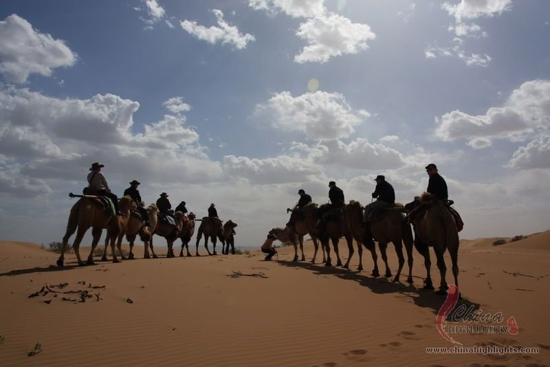 Zhongwei China  city photos gallery : Tengger Desert, the 4th Largest Desert in China