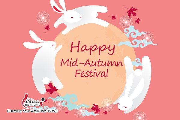 happy mid-autumn festival card