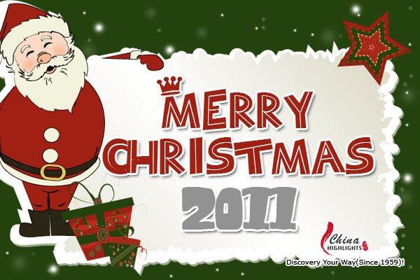 Merry Christmas Card 2011