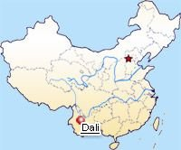 Dali Location Map