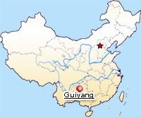Map of Guiyang's Location