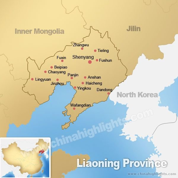 Liaoning Province Map