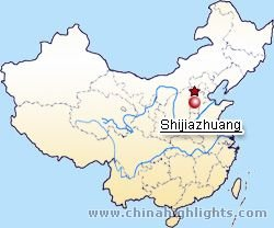Shijiazhuang Location Map
