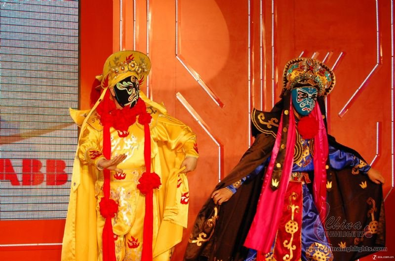 Magical Face Change in Sichuan Opera