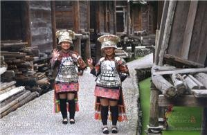 Datang short skirt Miao village