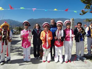 China Highlights clients with Naxi people