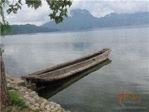 Scenery of Lugu Lake