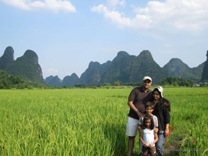travel guilin with your kids