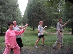 pratiquer le tai chi en Chine!