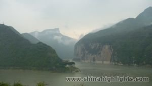 A View of the Yangtze River of CH Victoria