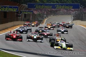 Formula One Chinese Grand Prix Shanghai