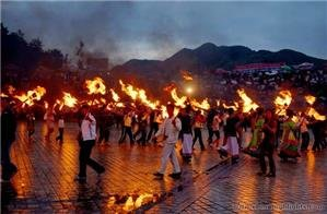 Torch Festival of Yi People