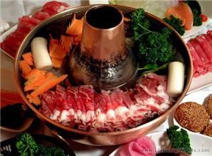 Mongolian Hot Pot at Donglaishun Restaurant