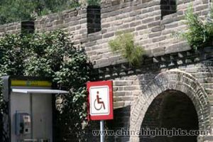 facilitate access for  disables