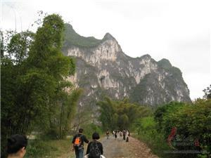 Hiking from Yangdi to Xingping