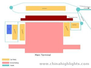 Hong Kong International Airport Ground Map