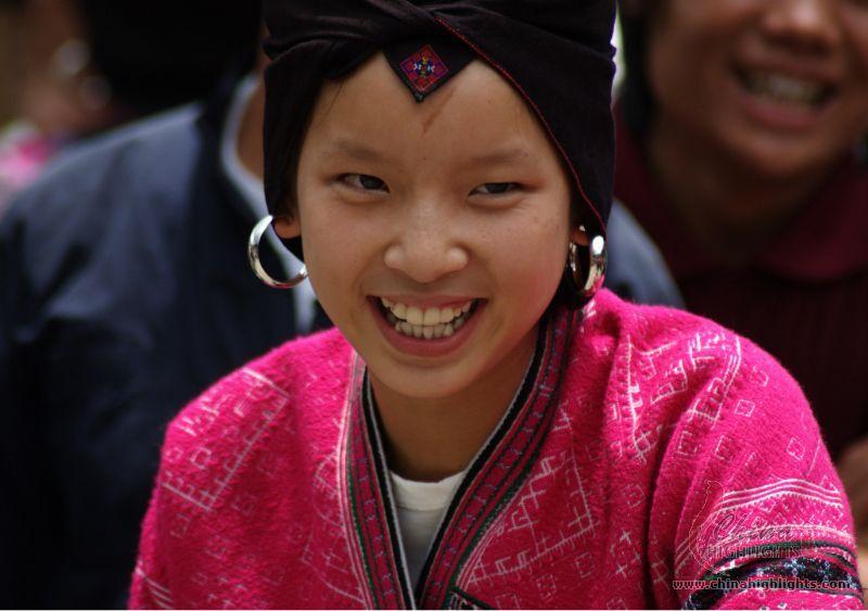 Zhuang Ethnic Minority Zhuang Group In China