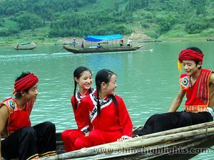 Tujia Minority of China