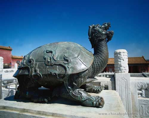 Chinese Tortoise Statues