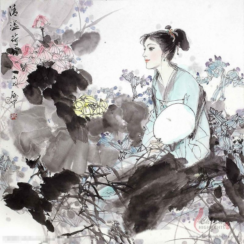 Traditional Chinese Paintings, History of Chinese Painting