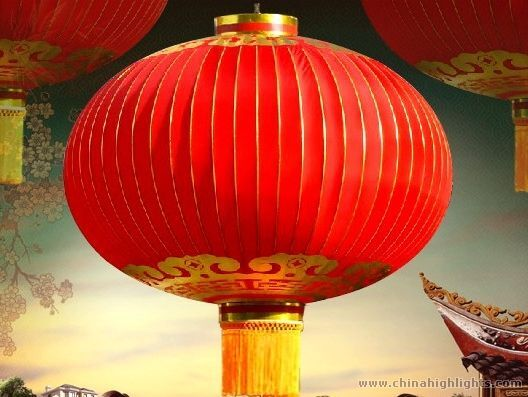 The Chinese lantern originated as an improvement over the more simple