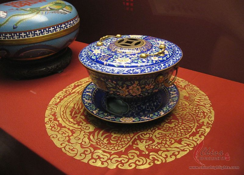 Chinese Cloisonné — Beautiful Ancient Enamelware