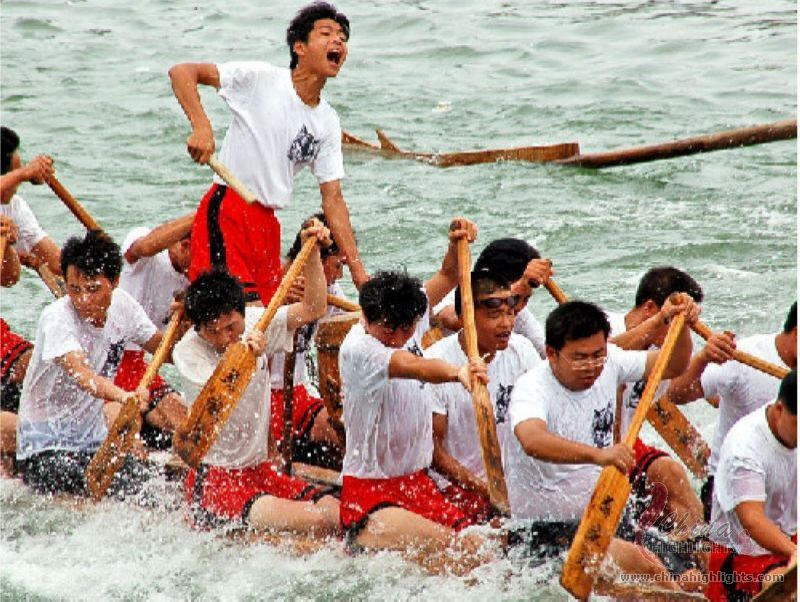 Dragon Boat Racing in Zhanjiang
