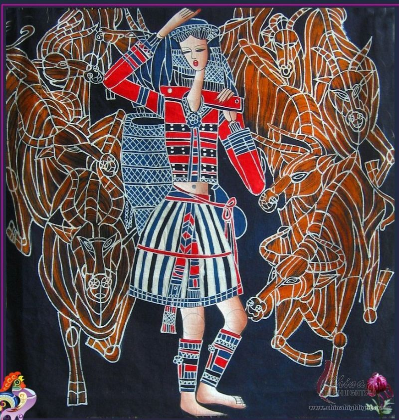 Chinese Batiks Chinese Wax Printing