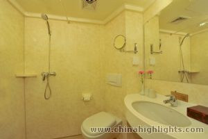 Standard Room Bathroom of Sunshine China