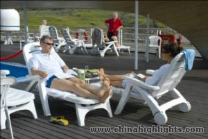 Sun Deck of Yangtze 2