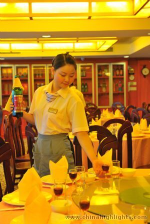 Restaurant Service of Yangtze Angel
