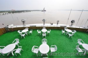 Sun Deck of Yangtze Angel